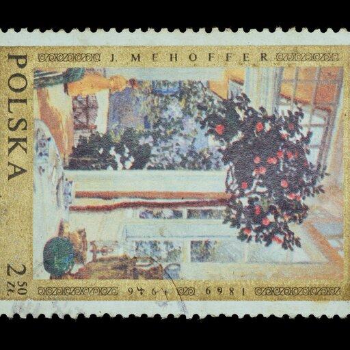 Połączenie secesyjnej dekoracyjności zsymbolizmem wtwórczości Józefa Mehoffera