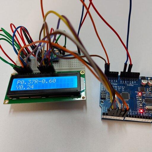 Arduino – żyroskop elektroniczny