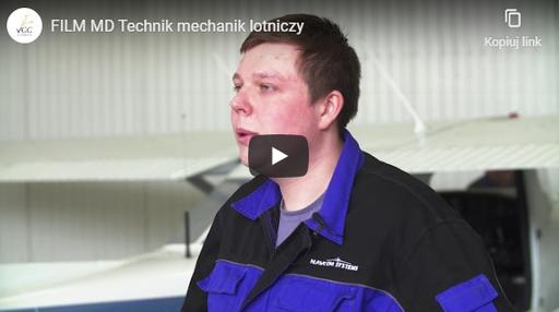 Technik mechanik lotniczy MD FILM