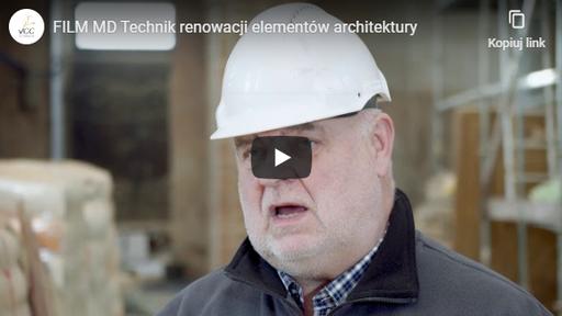 Technik renowacji elementów architektury