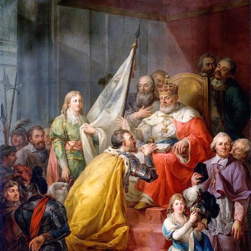 Marcello Bacciarelli - włoski malarz na polskim dworze królewskim