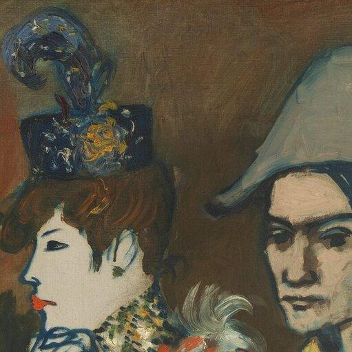 Obrazy wbłękicie iróżu – przedkubistyczny okres twórczości Picassa