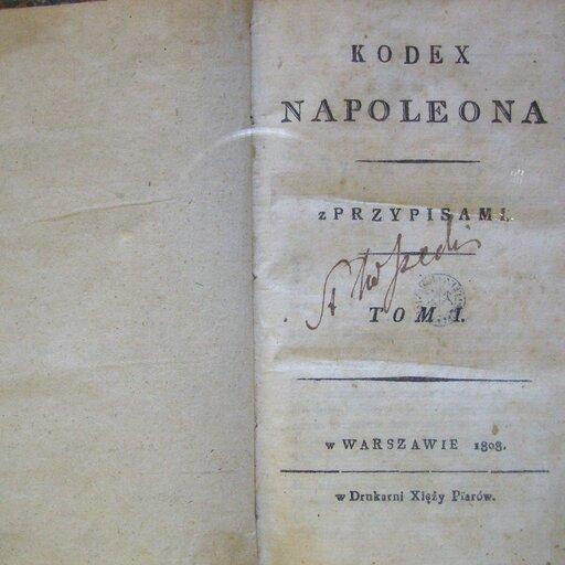 Kodeksy prawne – Kodeks Napoleona