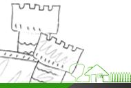 Budowle gotyckie. Jak wykonać projekt makiety zamku?