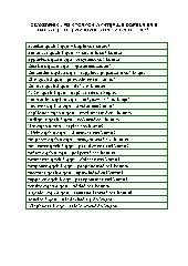 Czasowniki, po których występuje dopełnienie dalsze