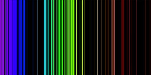 0846 Czym widmo absorpcyjne różni się od widma emisyjnego?