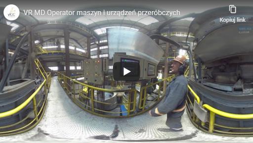 Operator maszyn iurządzeń przeróbczych VR MD