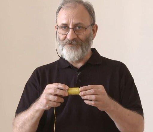 """Doświadczenia dla każdego - """"Przyciąganie na odległość czyli od magnesu do elektromagnesu cz. 2_2"""""""