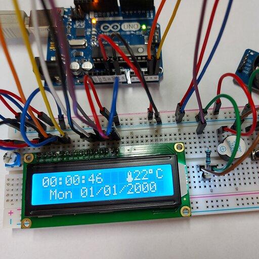 Arduino – budowa budzika
