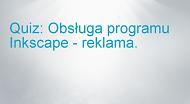 Agencja reklamowa. Obsługa programu Inkscape