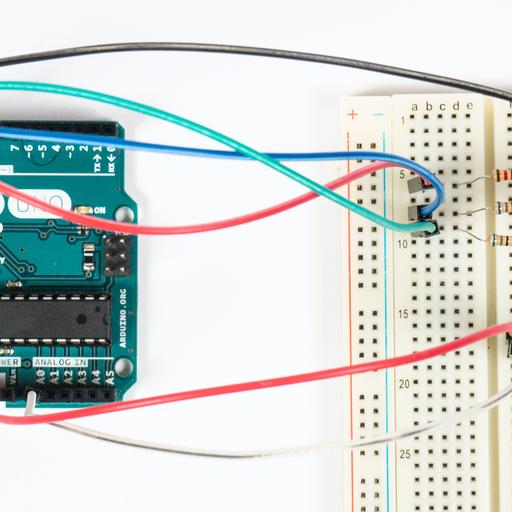 Arduino – fotorezystor