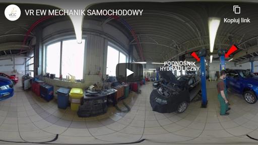 Mechanik samochodowy VR EW