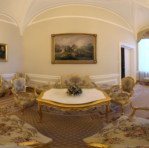 """Wirtualna wycieczka """"Pałac Prezydencki""""."""