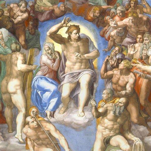 Terribilità wSądzie Ostatecznym na ścianie Kaplicy Sykstyńskiej