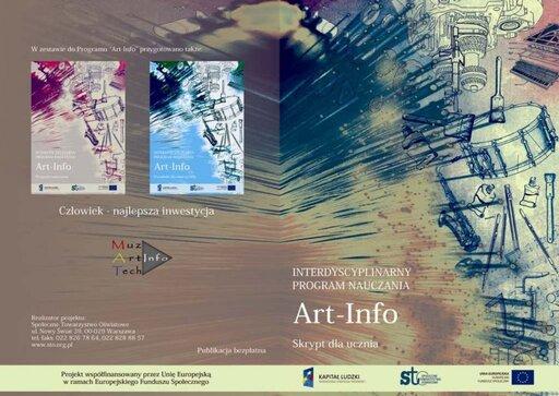 Program ART-INFO - skrypt dla ucznia do interdyscyplinarnego programu nauczania dla gimnazjum