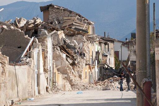 Negatywne skutki trzęsień ziemi