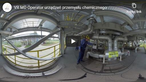 Operator urządzeń przemysłu chemicznego VR MD
