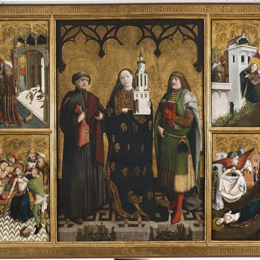 Sztuka gotycka wPolsce , cz. III - malarstwo