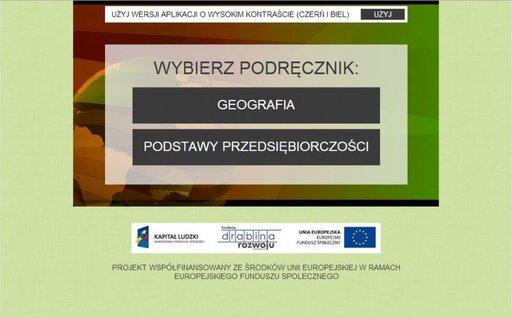 Multibook - geografia oraz podstawy przedsiębiorczości