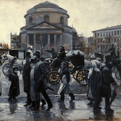 Czy w<i>Kamizelce</i> Bolesława Prusa pojawia się sokół?