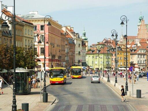 Układ przestrzenny polskich miast