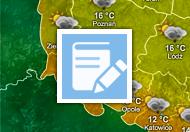 Pogoda. Nawigujemy po stronach internetowych