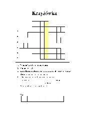 Krzyżówka – funkcje