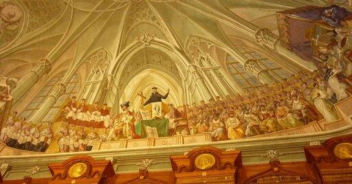 Sobór wTrydencie iwalka zreformacją