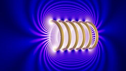 0658 Badanie wpływu przewodników zprądem na zachowanie igły magnetycznej