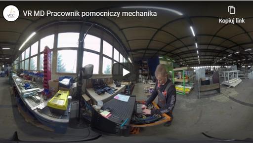 Pracownik pomocniczy mechanika VR MD