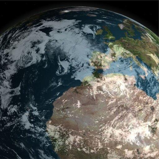 Kula jako model Ziemi. Powierzchnia kuli jako model powierzchni Ziemi. Powierzchnia kuli jako model sfery niebieskiej