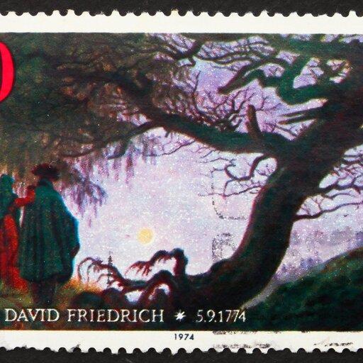 Wewnętrzne życie człowieka widziane przez pryzmat natury wmalarstwie Caspara Davida Friedricha