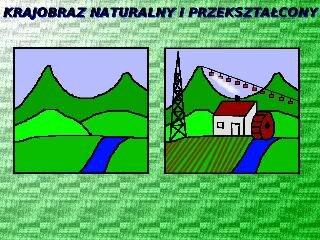 Krajobraz naturalny iprzekształcony