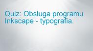 Typografia wprogramie Inkscape