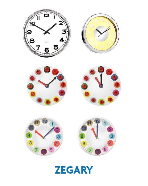 Zegary - ilustracje