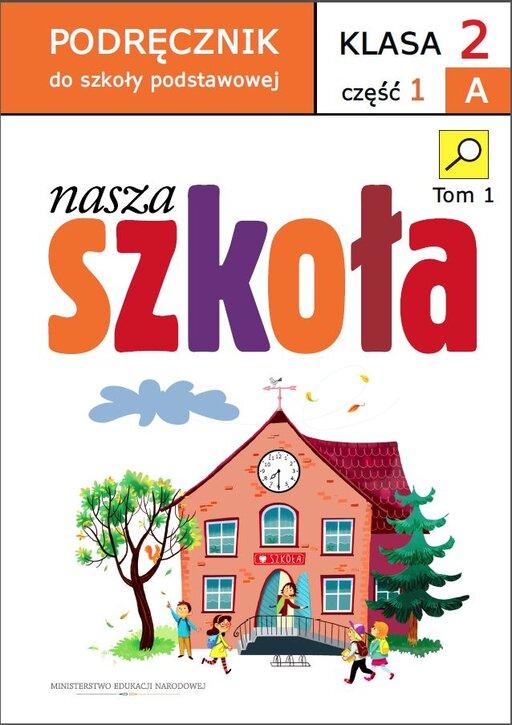 Podręcznik do szkoły podstawowej Nasza szkoła. Klasa II. Część 1 Bdo kształcenia zintegrowanego.