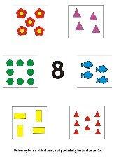 Uczymy się liczyć. Cyfra 8