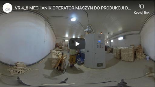 Mechanik-operator maszyn do produkcji drzewnej VR 4-8