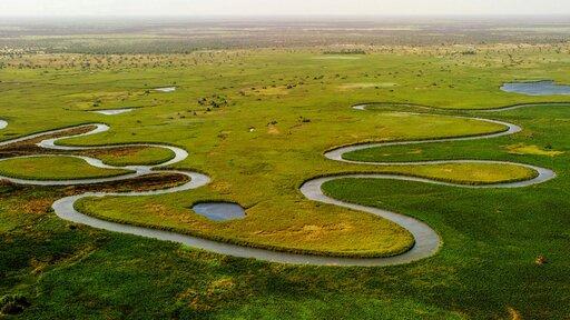 Zróżnicowanie wytworów erozji rzecznej wzależności od biegu rzeki