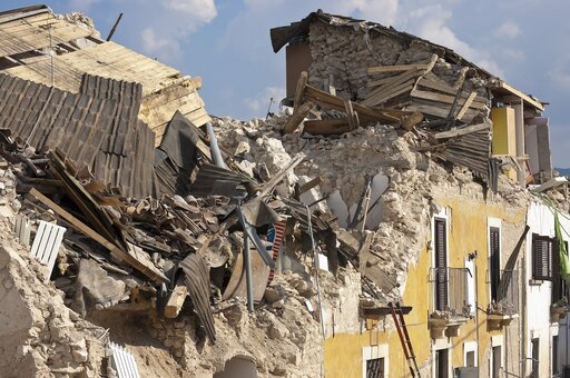 Wielkie katastrofy wywołane trzęsieniami Ziemi