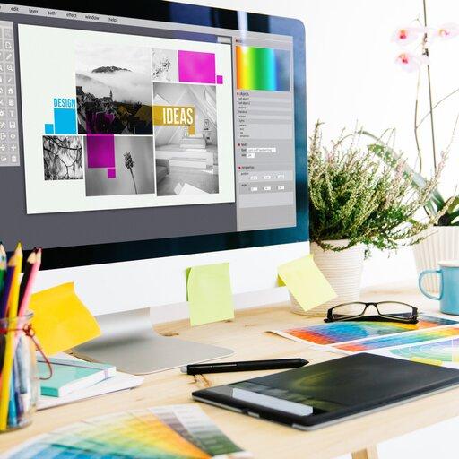 Wpracowni projektowania graficznego
