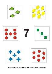 Uczymy się liczyć. Cyfra 7