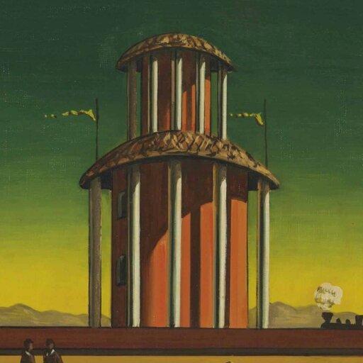 Metafizyczne malarstwo Giorgia de Chirica