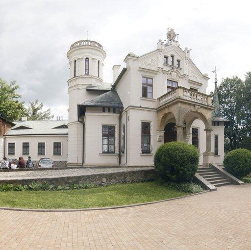 """Wirtualna wycieczka """"Pałacyk Henryka Sienkiewicza wOblęgorku"""""""
