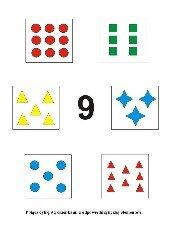 Uczymy się liczyć. Cyfra 9