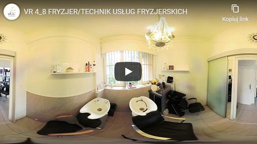 Fryzjer / Technik usług fryzjerskich VR 4-8