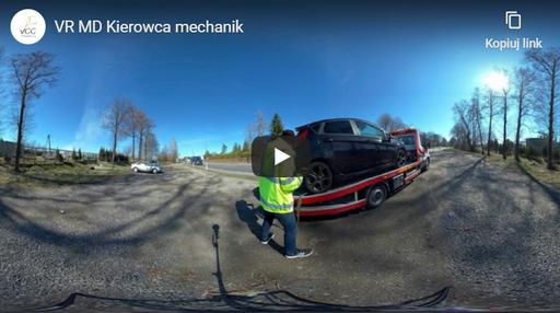 Kierowca mechanik VR