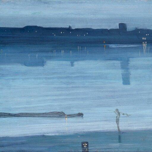 Nocne pejzaże imuzyczne rejestracje wmalarstwie Jamesa McNeila Whistlera