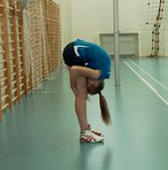 Indeks Sprawności Fizycznej K. Zuchory - próba siły, gibkości iwytrzymałości
