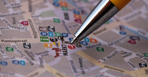 Wyszukiwanie informacji, obliczanie odległości pomiędzy punktami